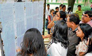 Students weigh options after DU's first cut-off list