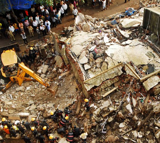Bhiwandi garment factory collapse: Death toll climbs to six