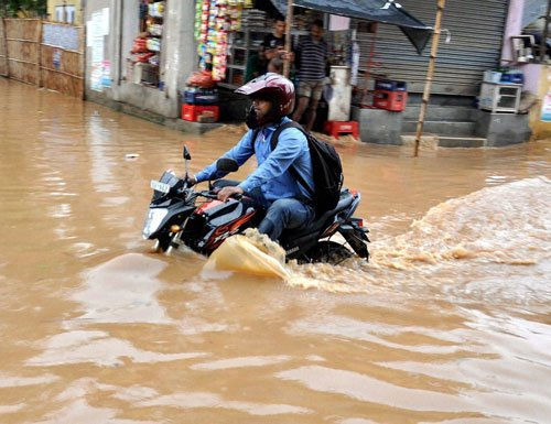 Monsoon 25% excess; more rain in hills, abates in plains