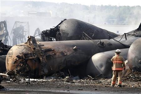 40 still missing in deadly Canada rail crash, fire