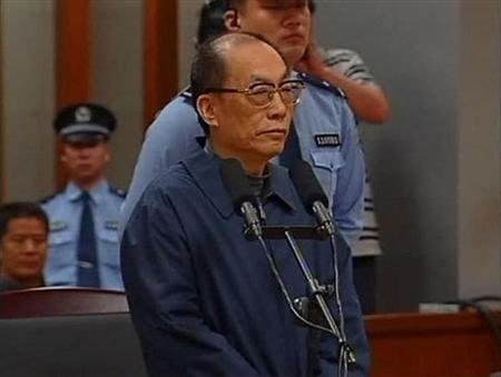 China's ex-minister sentenced to death for graft, power misuse