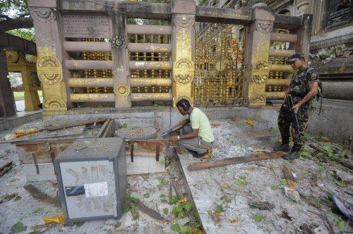 CCTV footage of Bodh Gaya serial blasts released