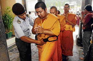 Security at Mahabodhi temple was inadequate