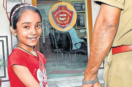 Police station in Jaipur adopts girl child