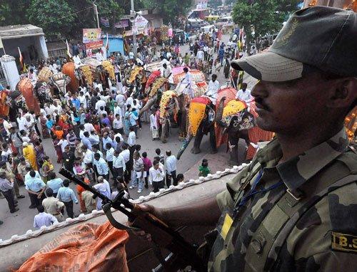136th rath yatra begins amidst tight security