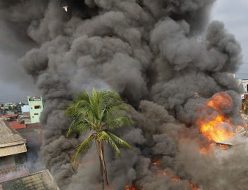 Fire in J-K civil secretariat annexe, no reports of injuries
