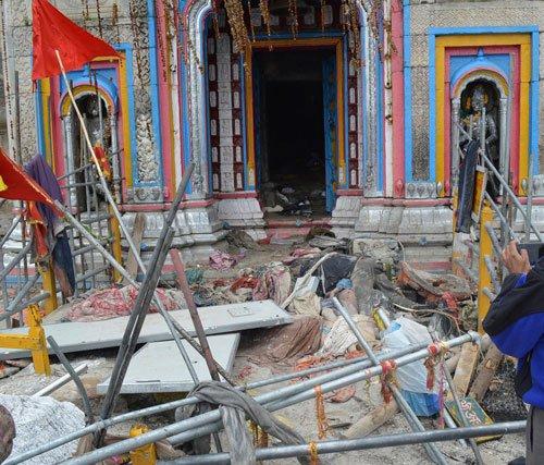 Army opens new route to Kedarnath shrine