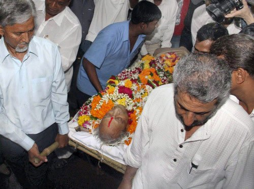 Pran cremated, Bollywood gives 'aakhri salaam'
