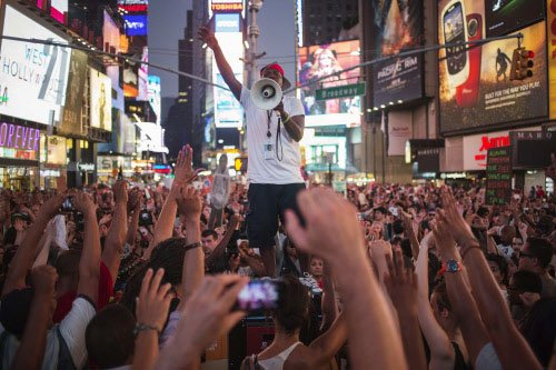Hundreds protest in New York over Zimmerman acquittal