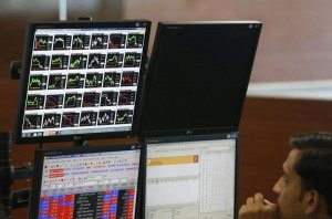 Sensex breaches 20K mark after 6wks;up 76pts led by TCS,Airtel