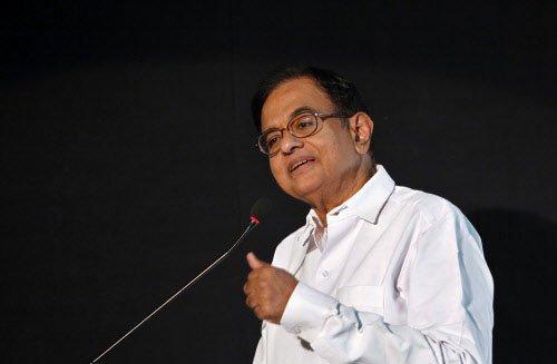 No charges on Sonia, Rahul Gandhi's rallies: Chidambaram