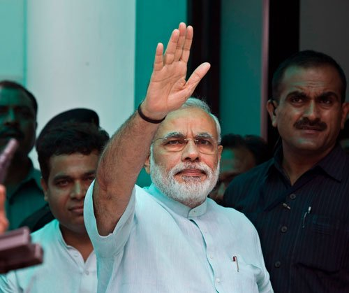 Saffron party withdraws Rs-5 fee for Modi rally