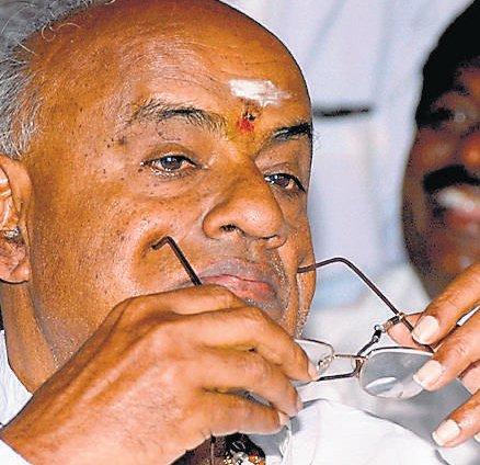 Third Front will form next govt at Centre, says Gowda