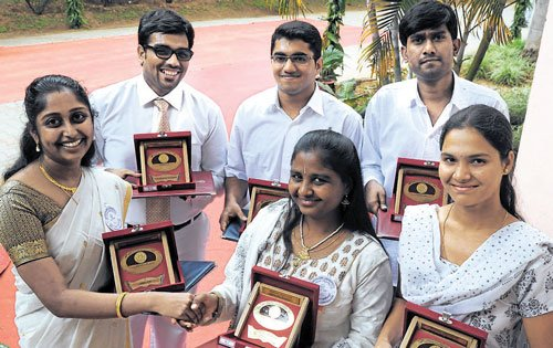Diligence pays rich dividends to BU toppers