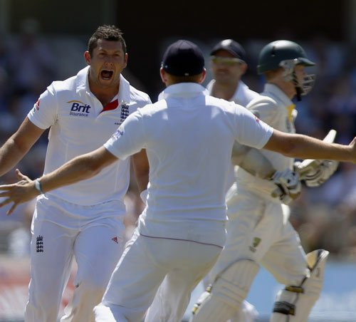 Aussies lose Watson after England tail end rally