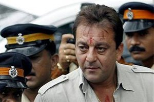 Sanjay Dutt emerges from Yerawada jail for check-up