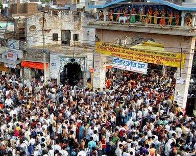 Millions throng Goverdhan for annual Krishna fair