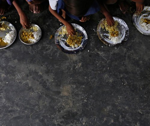 Midday meal supervisor suspended