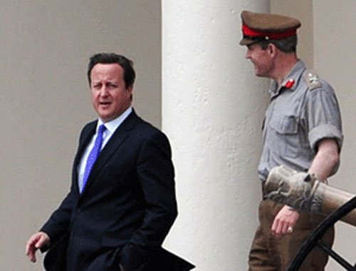 Syria's Assad is stronger now, says Cameron
