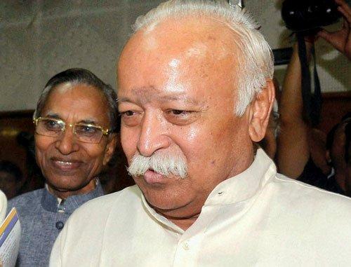 BJP in trouble in Bihar, leaders meet RSS chief