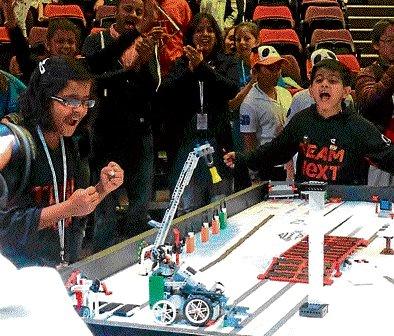 Capital kids win robo war