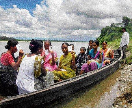 Bengal panchayat poll peaceful