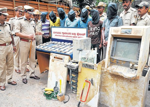 ATM thieves held, cash recovered