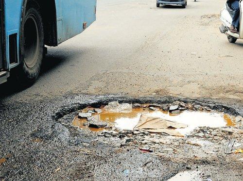 Battling the battered roads