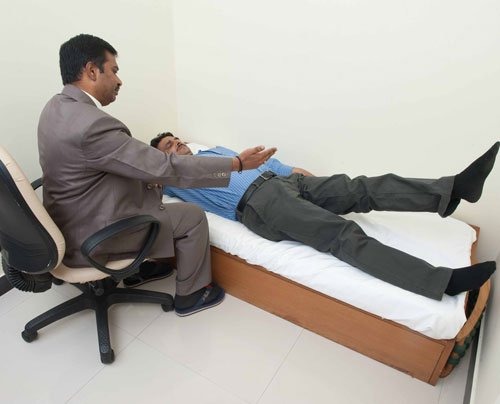 Free spine check-up camp held