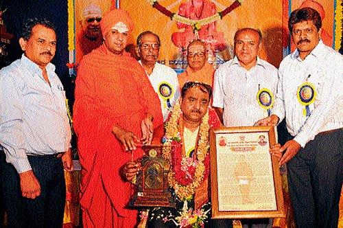 Bidari took to politics to express his gratitude