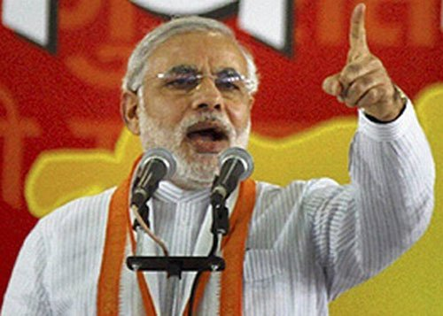 Modi may contest LS poll from Nitish's turf