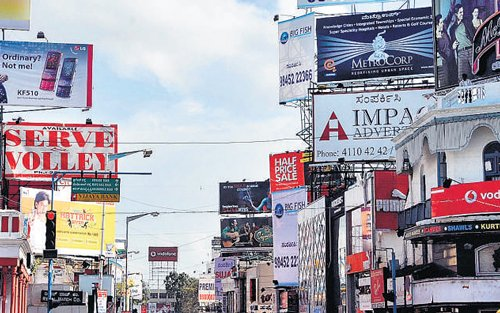 'Hoardings mushrooming, but taxes from them stagnant'