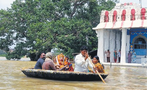 Floods, a harbinger of inter-state harmony