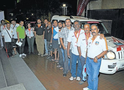 Curvy roads thrill Monsoon rallyists