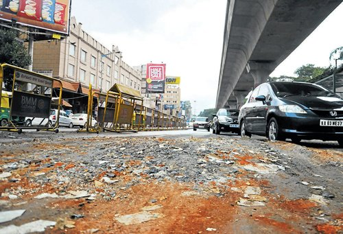 Rs 17,802 cr spent on City roads in 10 yrs