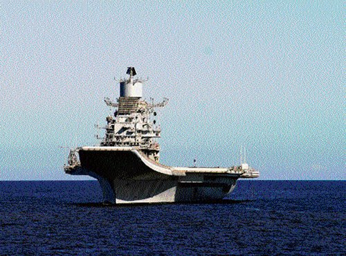 INS Vikramaditya to arrive in India early next year