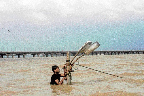 Uttarakashi temple swept away by raging rain   Deccan Herald