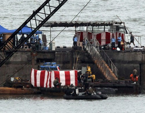 Submarine blasts due to possible ignition of armament: Antony