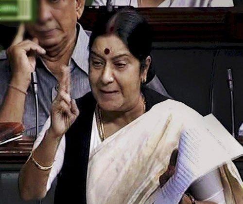 Sushma Swaraj demands death for rapists