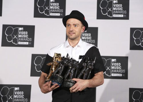 Justin Timberlake leads MTV Video Music Awards 2013
