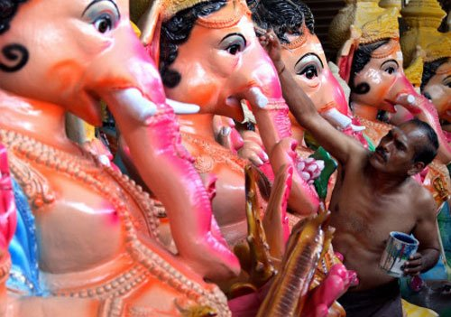 Author arrested for derogatory references to Lord Ganesh
