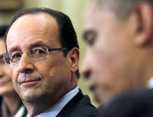 France says it cannot act alone on Syria as U.S. hesitates