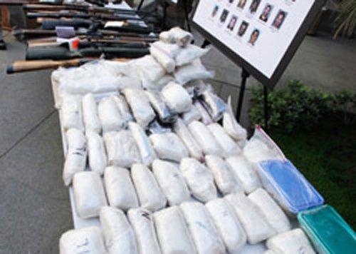 Over 1,500 kg drugs seized in Delhi, two arrested