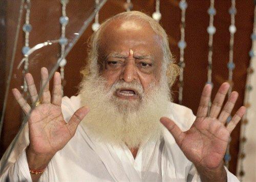 Asaram Bapu kept alone in cell