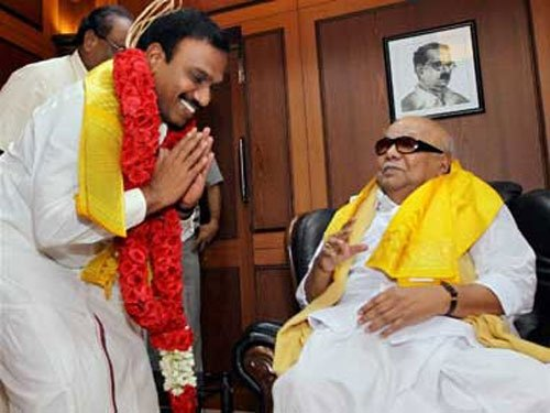 Will not allow Raja to be made scapegoat: Karuna
