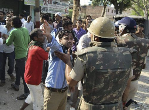 Shoot orders in UP town as riot spreads