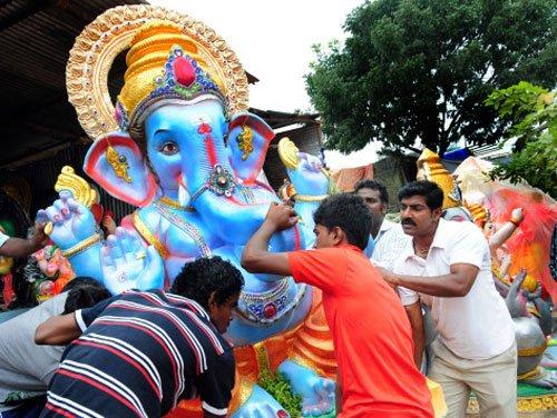 Ganesh fest celebrated with fervour in Karnataka