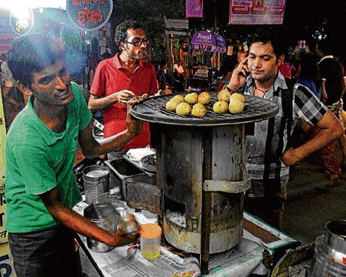 On a litti-chokha spree