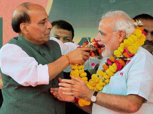 BJP in mood to make announcement on Modi
