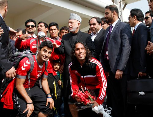 Afghans rejoice in SAFF Cup triumph